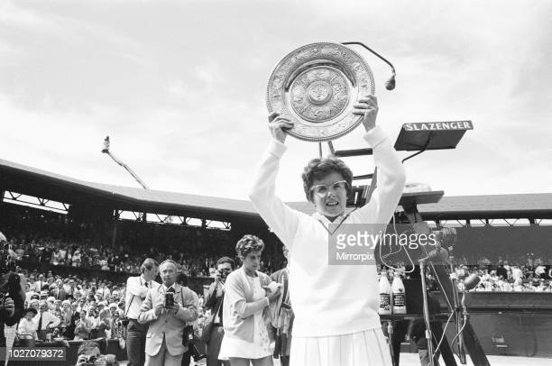 Ladies Singles Final Wimbledon Billie Jean King v Maria Bueno Wimbledon Tennis Championships Saturday 2nd July 1966 Billie Jean King wins in three...