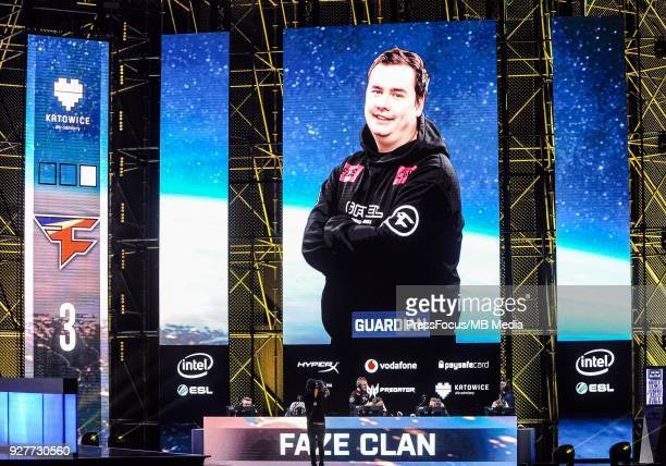 Ladislav GuardiaN Kovacs during CounterStrike Global Offensive final game between FaZe Clan and Fnatic on March 4 2018 in Katowice Poland