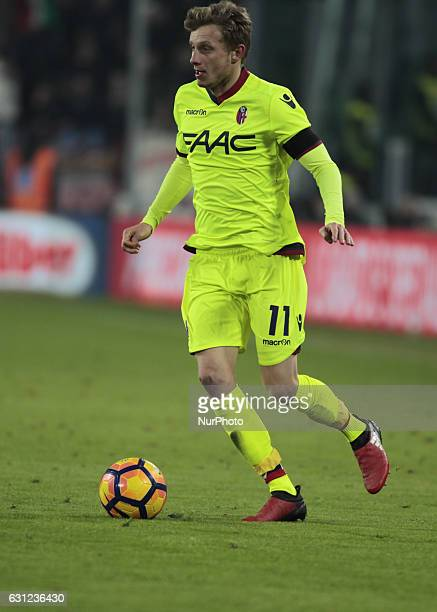 Ladislav Krejci during Serie A match between Juventus v Bologna in Turin on January 08 2017