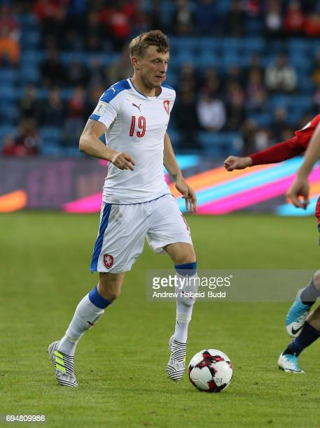 Ladislav Krejci of Czech Republic during the FIFA 2018 World Cup Qualifier between Norway and Czech Republic at Ullevaal Stadion on June 10 2017 in...