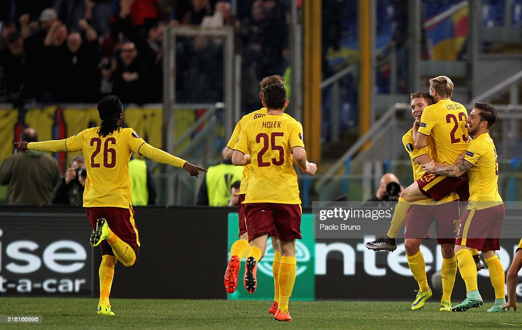 SS Lazio v Sparta Prague - UEFA Europa League Round of 16: Second Leg : News Photo