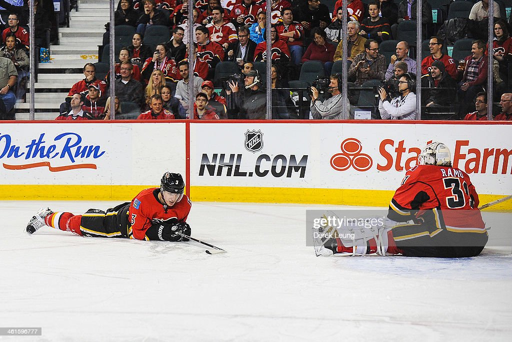 St. Louis Blues v Calgary Flames : News Photo