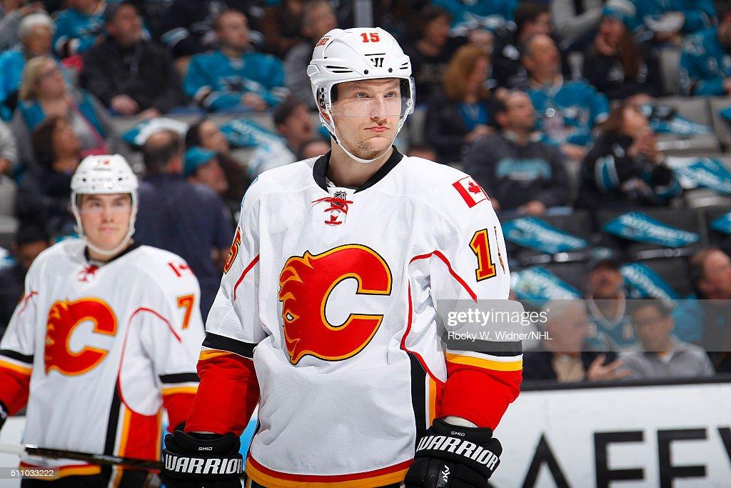 Calgary Flames v San Jose Sharks : News Photo