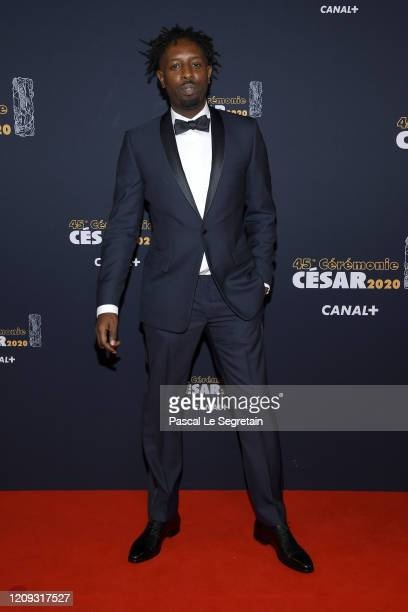 Ladj Ly arrives at the Cesar Film Awards 2020 Ceremony At Salle Pleyel In Paris on February 28 2020 in Paris France