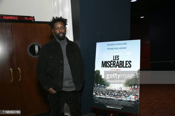 """Ladj Ly at the Film Independent Spirit Awards Screening Series Presents """"Les Miserables"""" at ArcLight Culver City on January 08, 2020 in Culver City,..."""