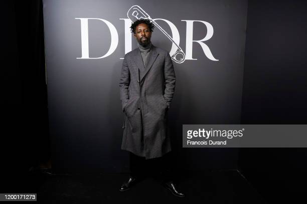 Ladj Ly attends the Dior Homme Menswear Fall/Winter 20202021 show as part of Paris Fashion Week on January 17 2020 in Paris France