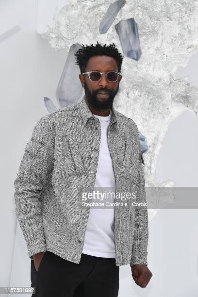 Ladj Ly attends the Dior Homme Menswear Spring Summer 2020 show as part of Paris Fashion Week on June 21 2019 in Paris France