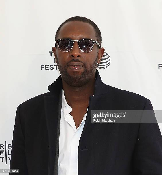 Ladj Ly attends Tribeca Talks After The MovieLes Bosquets during the 2015 Tribeca Film Festival at SVA Theater on April 26 2015 in New York City