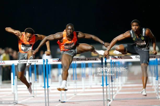 Ladji DOUCOURE 110 m haies Meeting International d'Athletisme de Nancy Stanislas et de l'Alma Athle Tour 2009 Stade Raymond Petit
