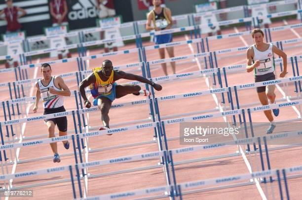 Ladji DOUCOURE 110m haies Championnats de France Elite Athletisme Angers