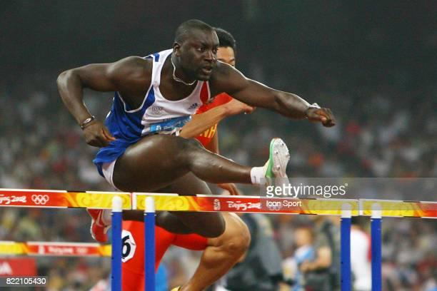 Ladji DOUCOURE 110 metres haies Athletisme Jeux Olympiques 2008