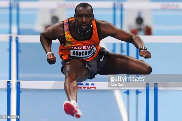 Ladji DOUCOURE 60 metres haies Championnat de France en salle Bercy Paris
