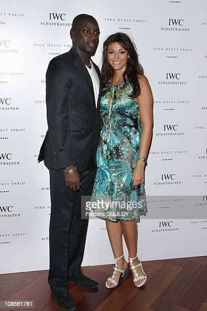 Ladji Doucoure and Rachel Legrain Trapani in Paris France on September 8 2008