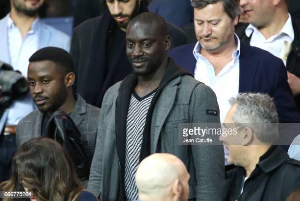 Ladji Doucoure attends the French Ligue 1 match between Paris SaintGermain and En Avant Guingamp at Parc des Princes on April 9 2017 in Paris France
