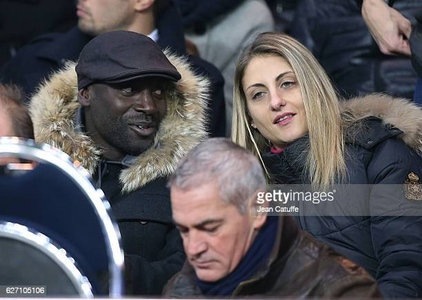 Ladji Doucoure attends the French Ligue 1 match between Paris SaintGermain and SCO Angers at Parc des Princes on November 30 2016 in Paris France