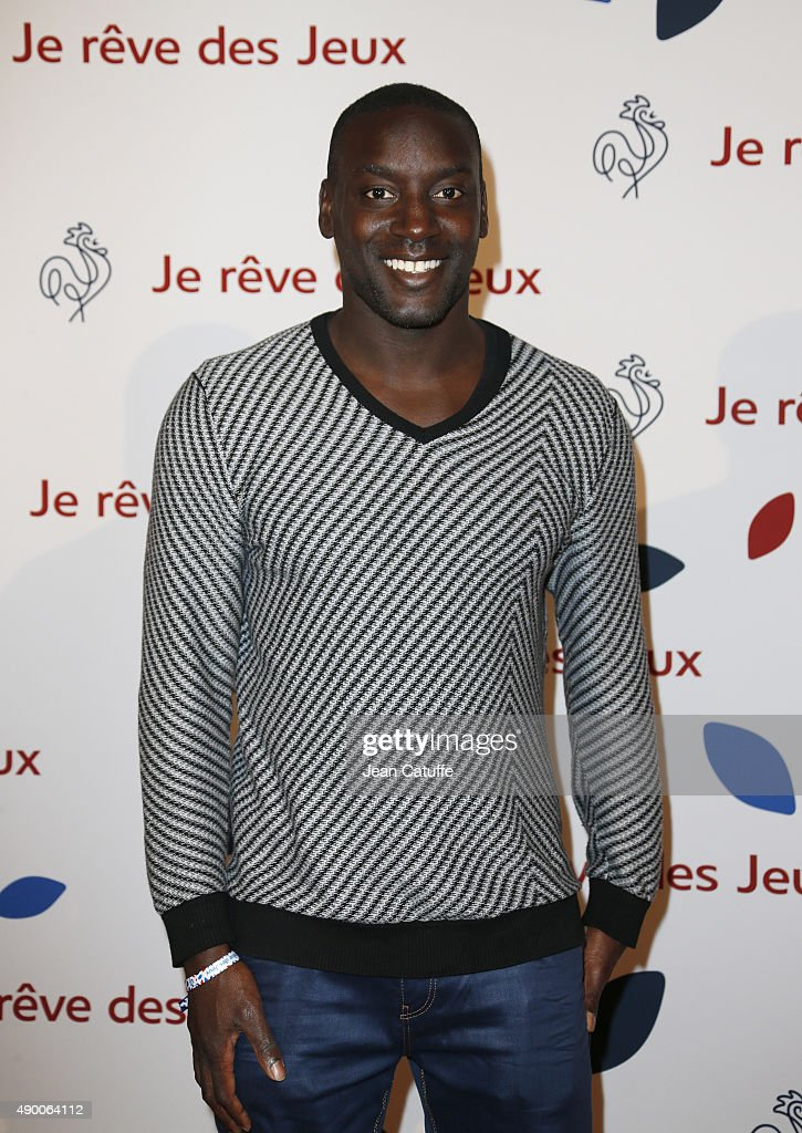 Ladji Doucoure attends the launch party for 'Je Reve Des Jeux', 'I dream about the Games', a campaign to promote Paris' bid for the Olympic Games in 2024 at 'Maison du Sport Francais', house of the CNOSF (French Olympic Committee) on September 25, 2015 in Paris, France.