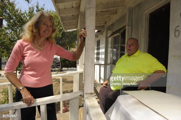 LaDonna Davis and St James Davis at their home on July 29 2008 in West Covina California