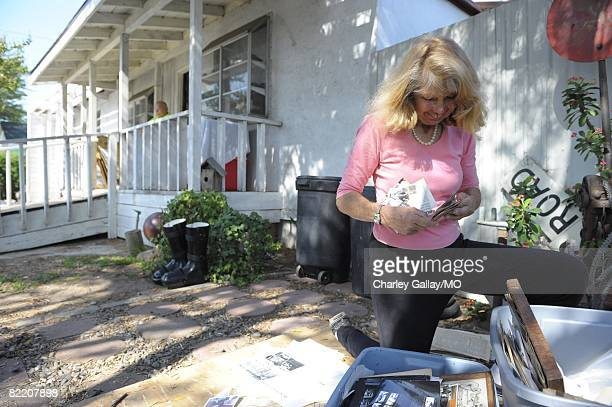LaDonna Davis at home on July 29 2008 in West Covina California