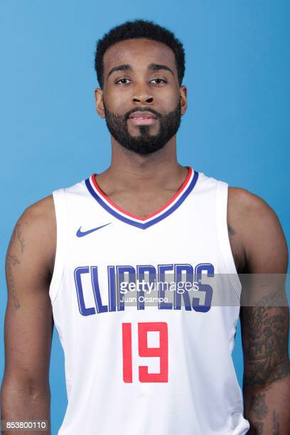 LaDontae Henton of the Los Angeles Clippers poses for a portrait during 2017 Media Day on September 25 2017 at the Los Angeles Clippers Practice...