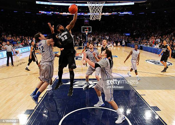 LaDontae Henton of the Providence Friars shoots against the Creighton Bluejays in the second half during the Championship game of the 2014 Men's Big...