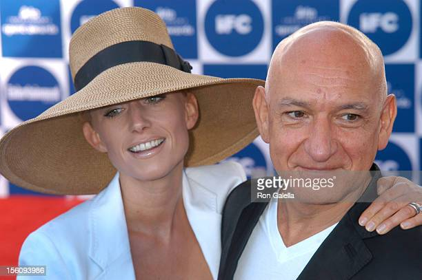 Lady Alexandra Christmann and Sir Ben Kingsley during The 19th Annual IFP Independent Spirit Awards Arrivals at Santa Monica Pier in Santa Monica...
