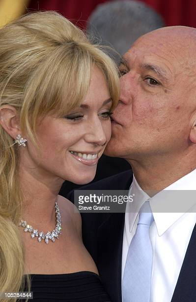Lady Alexandra Christmann and Sir Ben Kingsley during The 76th Annual Academy Awards Arrivals at The Kodak Theater in Hollywood California United...