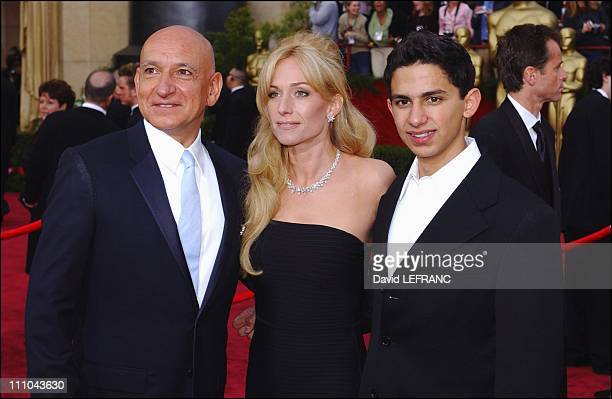 Lady Alexandra Christmann and Sir Ben Kingsley in Los Angeles United States on February 29 2004