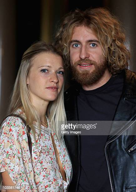 Lady Alexandra Gordon Lennox with her boyfriend Mike attend a reception during Day 2 of the Vintage at Goodwood Festival at Goodwood House on August...