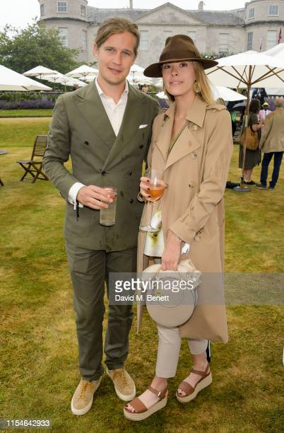 Lady Alexandra Gordon Lennox with her boyfriend Mike attend Cartier Style Et Luxe at the Goodwood Festival Of Speed 2019 on July 7 2019 in Chichester...