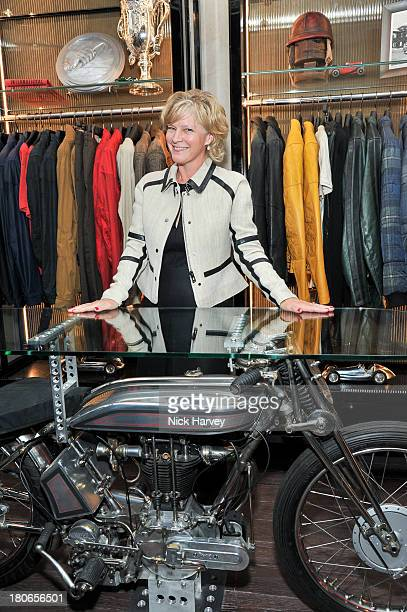 Lady Alexandra GordonLennox attends the opening of Belstaff House on September 15 2013 in London England