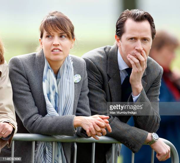 Lady Alexandra Hooper and Thomas Hooper attend day 3 of the Royal Windsor Horse Show in Home Park on May 10 2019 in Windsor England