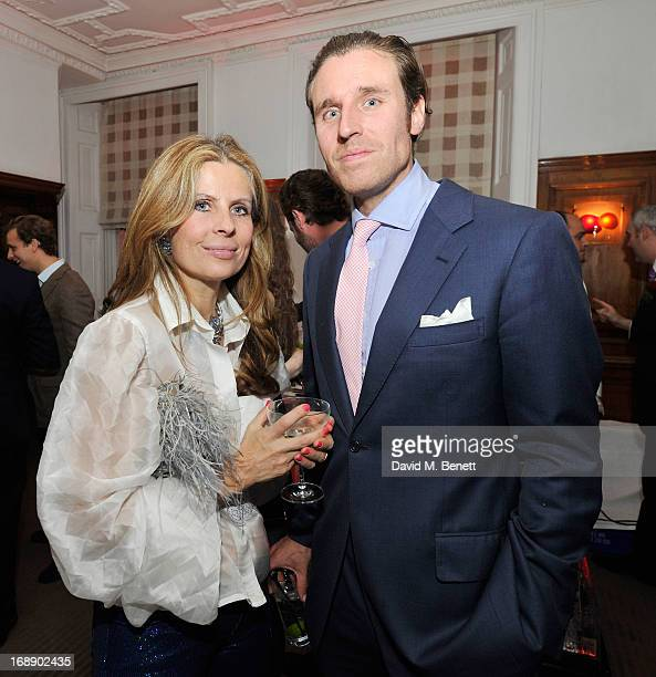 Lady Aliai Forte and Alistair Balfour attend the 175th Anniversary party of Brown's Hotel at Rocco Forte's Brown's Hotel on May 16 2013 in London...