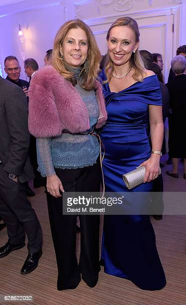 Lady Aliai Forte and Dagmar Smit attend as ELEGANTES LONDON Unveils the World's Rarest Perfumes at BrownÕs Hotel on December 8 2016 in London England