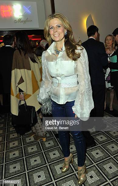 Lady Aliai Forte attends the 175th Anniversary party of Brown's Hotel at Rocco Forte's Brown's Hotel on May 16 2013 in London United Kingdom