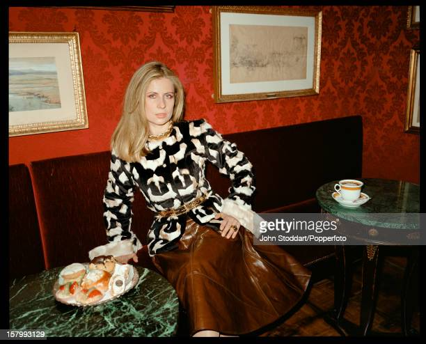 Lady Aliai Forte the wife of British hotelier Sir Rocco Forte circa 2000