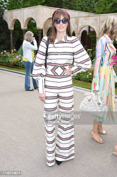 Lady Alice Manners attends the RHS Chelsea Flower Show 2019 press day on May 20 2019 in London England