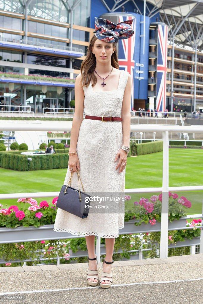 Royal Ascot 2018 - Fashion, Day 2 : News Photo