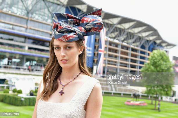 Lady Alice Manners on day 2 of Royal Ascot at Ascot Racecourse on June 20 2018 in Ascot England