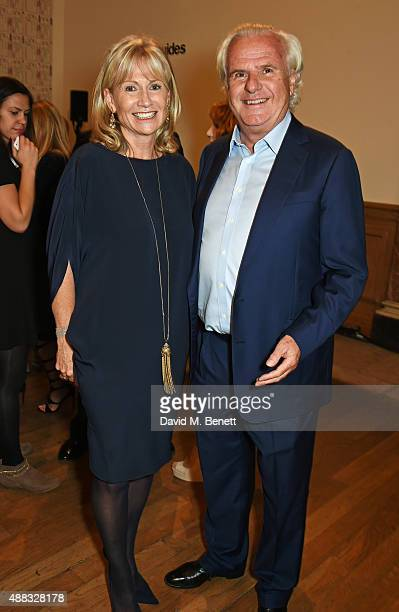 Lady Alison and Lord Paul Myners attend the opening reception to celebrate the Ai Weiwei exhibition at The Royal Academy of Arts on September 15 2015...