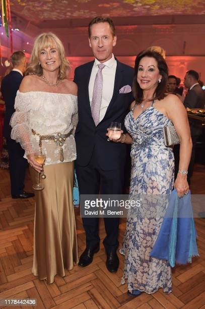 Lady Alison Myners and guests attend The Art of Wishes Gala and Auction presented by the MakeAWish® UK at Royal Horticultural Halls on Tuesday 1...