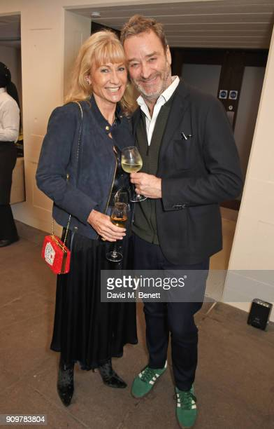 Lady Alison Myners and James Seymour attend the reopening of The Hayward Gallery featuring the first major UK retrospective of the work of German...