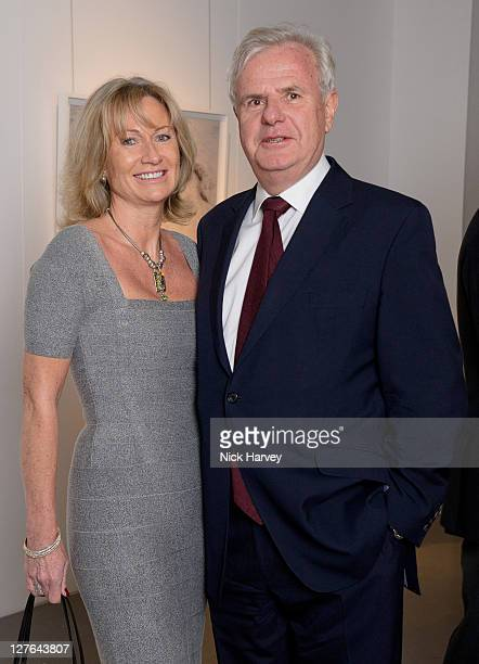 Lady Alison Myners and Lord Paul Myners attend the Contemporary Art Society Auction Gala for Material Worlds at Victoria House on March 9 2011 in...