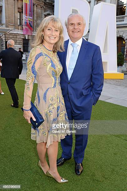 Lady Alison Myners and Lord Paul Myners attend the Royal Academy Summer Exhibition preview party at the Royal Academy of Arts on June 4 2014 in...