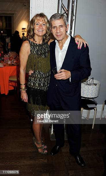 Lady Alison Myners and Stuart Rose attend The ICA Fundraising Gala held at the Institute of Contemporary Arts on March 29 2011 in London England