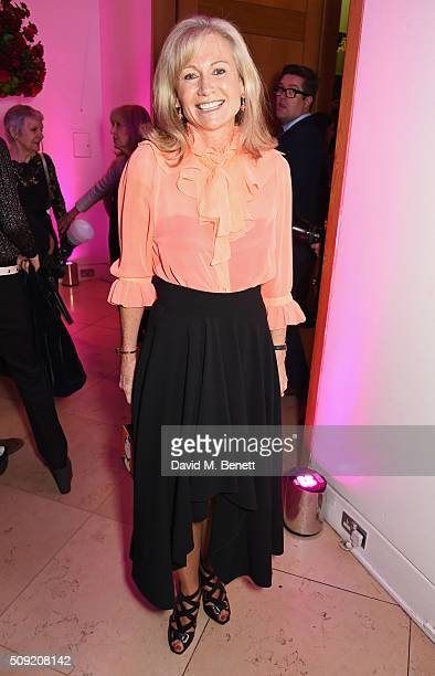 Lady Alison Myners attends a private view of Vogue 100 A Century of Style hosted by Alexandra Shulman and Leon Max at the National Portrait Gallery...