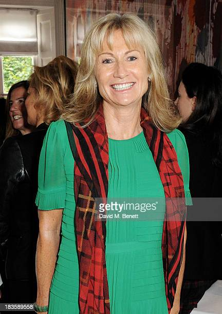 Lady Alison Myners attends the annual Tatler Great Girls Lunch in aid of Cancer Research UK at Mortons on October 7 2013 in London England