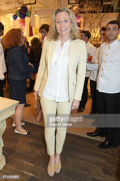 Lady Alison Myners attends the book launch party for India Hicks Island Style at Ralph Lauren Fulham Road on April 28 2015 in London England