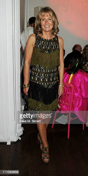 Lady Alison Myners attends The ICA Fundraising Gala held at the Institute of Contemporary Arts on March 29 2011 in London England