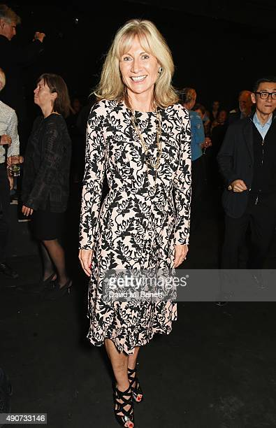 Lady Alison Myners attends the London Burning Launch Event at The ICA supported by Mulberry at the ICA on September 30 2015 in London England