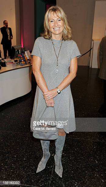 Lady Alison Myners attends the UK Film Premiere of 'Beyond Time William Turnbull' at The Institute Of Contemporary Arts on November 17 2011 in London...
